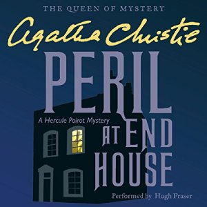 Peril at End House audiobook cover art