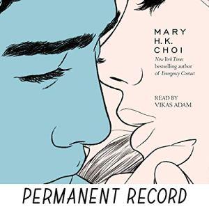 Permanent Record audiobook cover art