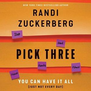 Pick Three audiobook cover art