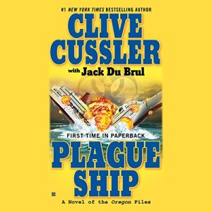 Plague Ship audiobook cover art