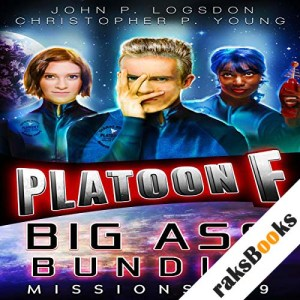 Platoon F: Big Ass Bundle (Platoon F eBook Bundle 3) audiobook cover art