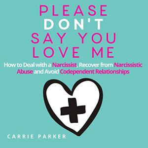 Please Don't Say You Love Me audiobook cover art