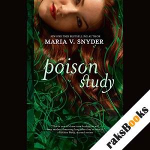 Poison Study audiobook cover art