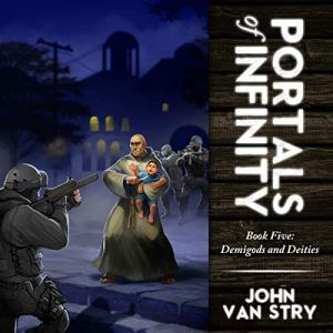 Portals of Infinity audiobook cover art