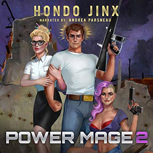 Power Mage 2 audiobook cover art