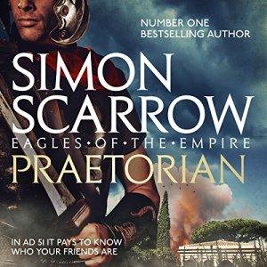 Praetorian audiobook cover art
