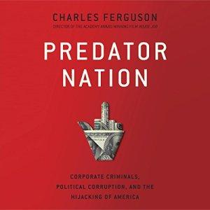 Predator Nation audiobook cover art