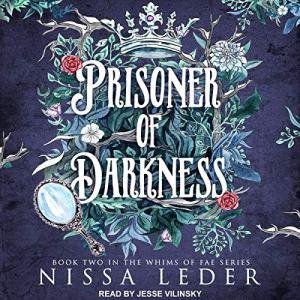 Prisoner of Darkness audiobook cover art