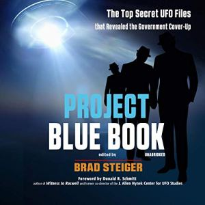 Project Blue Book audiobook cover art