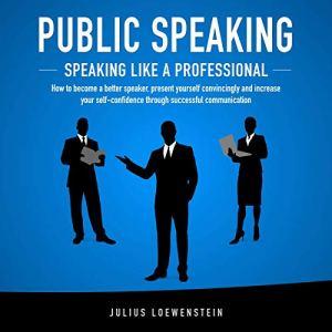 Public Speaking audiobook cover art