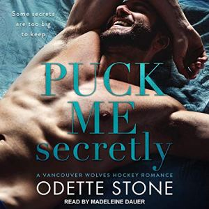 Puck Me Secretly audiobook cover art