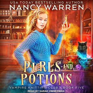 Purls and Potions audiobook cover art