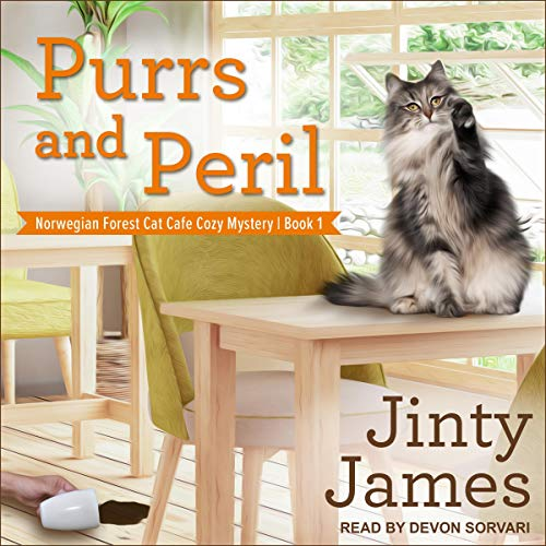 Purrs and Peril audiobook cover art