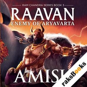 Raavan audiobook cover art