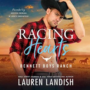 Racing Hearts: Bennett Boys Ranch audiobook cover art