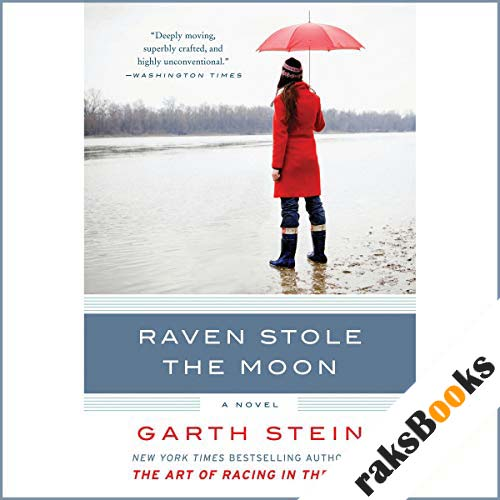 Raven Stole the Moon audiobook cover art