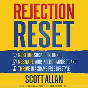 Rejection Reset audiobook cover art