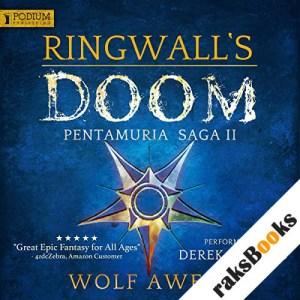 Ringwall's Doom audiobook cover art