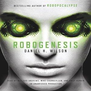 Robogenesis audiobook cover art