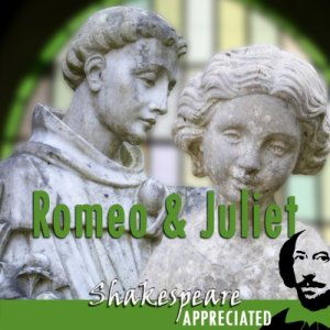 Romeo and Juliet audiobook cover art