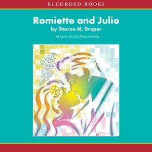 Romiette and Julio audiobook cover art