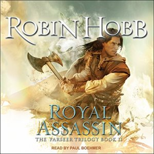 Royal Assassin audiobook cover art