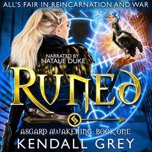 Runed audiobook cover art