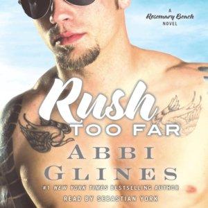 Rush Too Far audiobook cover art