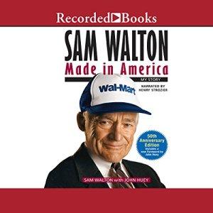 Sam Walton audiobook cover art