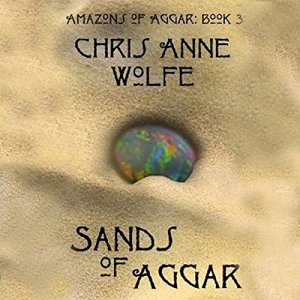 Sands of Aggar audiobook cover art