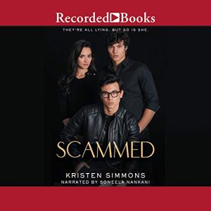 Scammed audiobook cover art