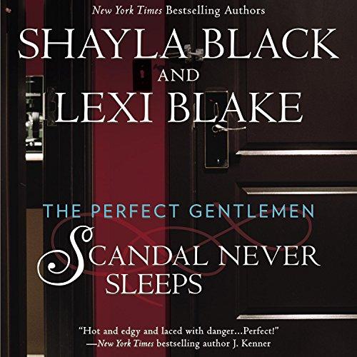 Scandal Never Sleeps audiobook cover art