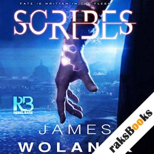 Scribes audiobook cover art