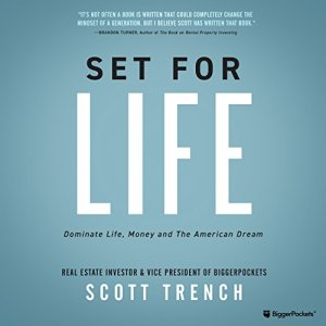 Set for Life audiobook cover art