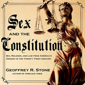 Sex and the Constitution audiobook cover art