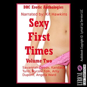 Sexy First Times, Volume Two: Five Explicit Younger Woman First Sex Erotica Stories audiobook cover art