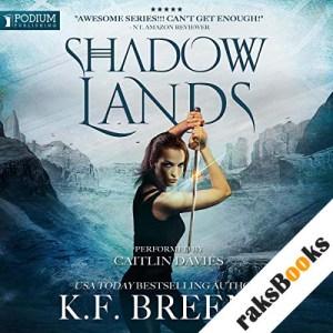 Shadow Lands audiobook cover art