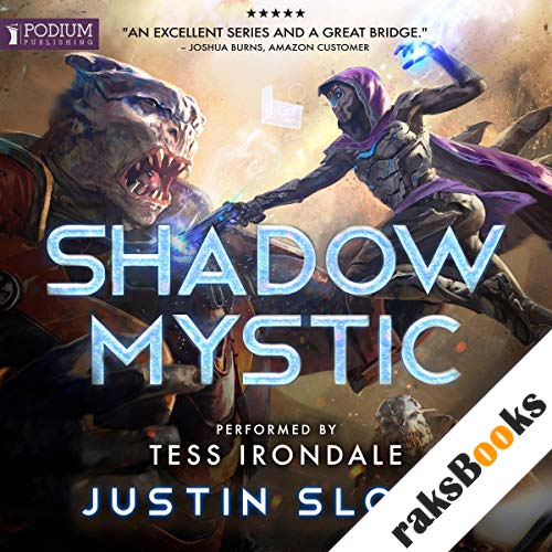 Shadow Mystic audiobook cover art