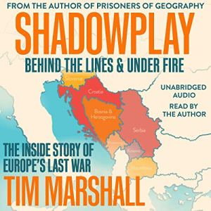 Shadowplay: Behind the Lines and Under Fire audiobook cover art