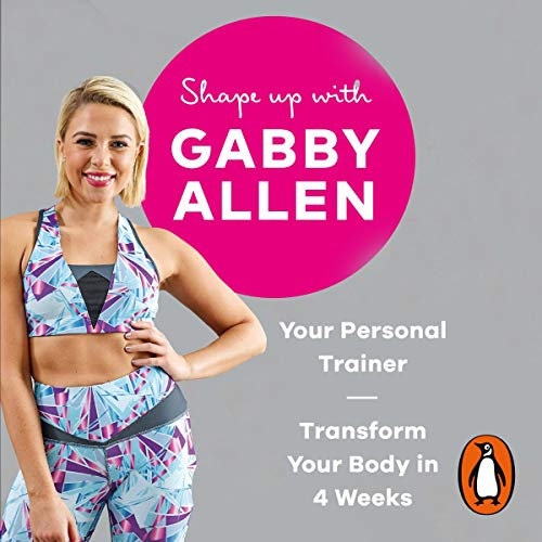 Shape Up with Gabby Allen audiobook cover art