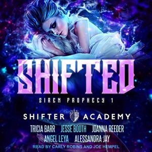 Shifted: Siren Prophecy 1 audiobook cover art