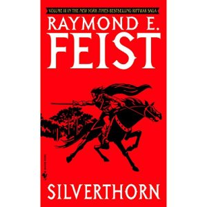 Silverthorn audiobook cover art