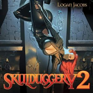 Skulduggery 2 audiobook cover art