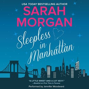 Sleepless in Manhattan audiobook cover art