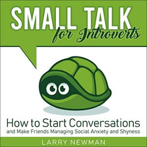 Small Talk for Introverts audiobook cover art