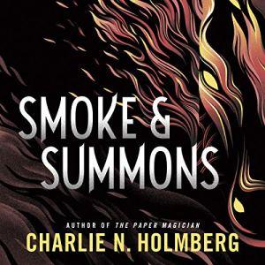 Smoke and Summons audiobook cover art