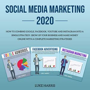 Social Media Marketing 2020 audiobook cover art