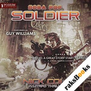 Soda Pop Soldier audiobook cover art