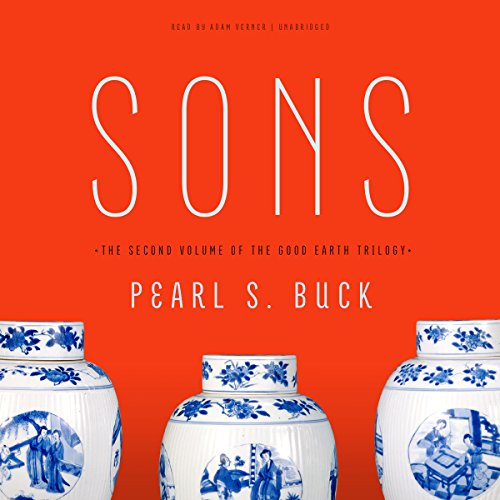 Sons audiobook cover art