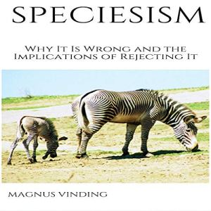 Speciesism audiobook cover art